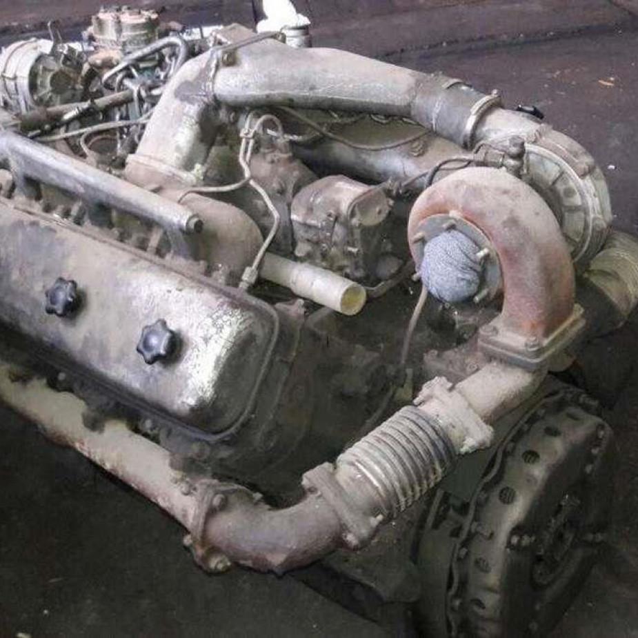 Skelbimo Maz V6, V6turbo, V8, V8turbo varikliai dalimis. nuotrauka