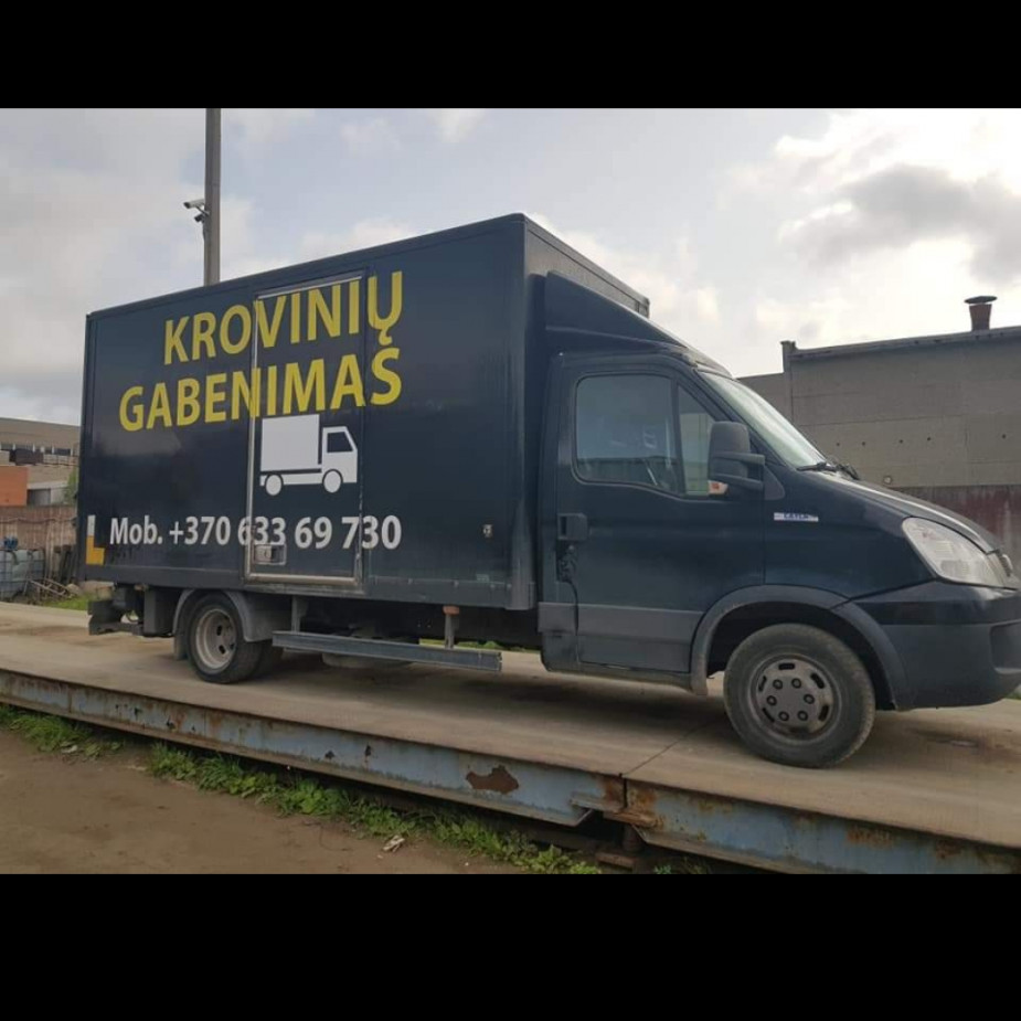 Skelbimo Krovinių gabenimas ir perkraustymo paslaugos nuotrauka