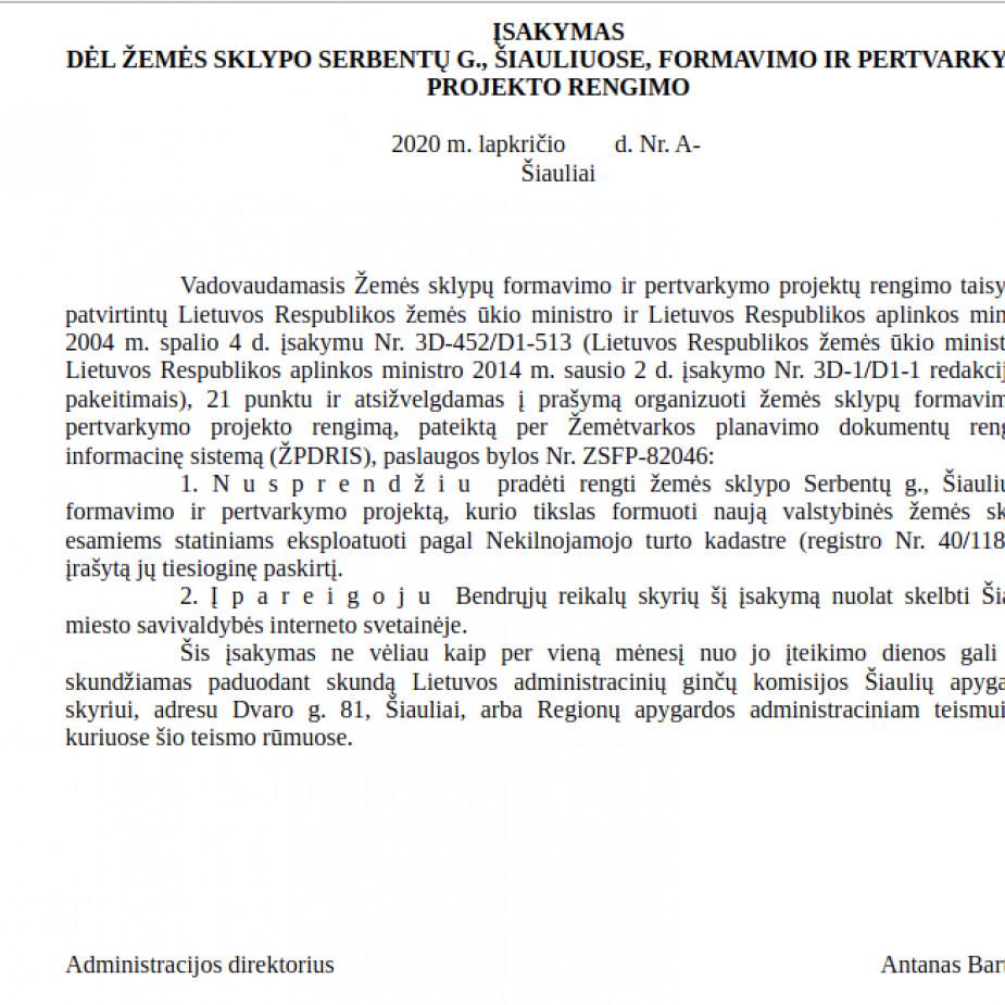 Skelbimo Šiauliai, Pabaliai, Serbentų g., Patalpos nuotrauka