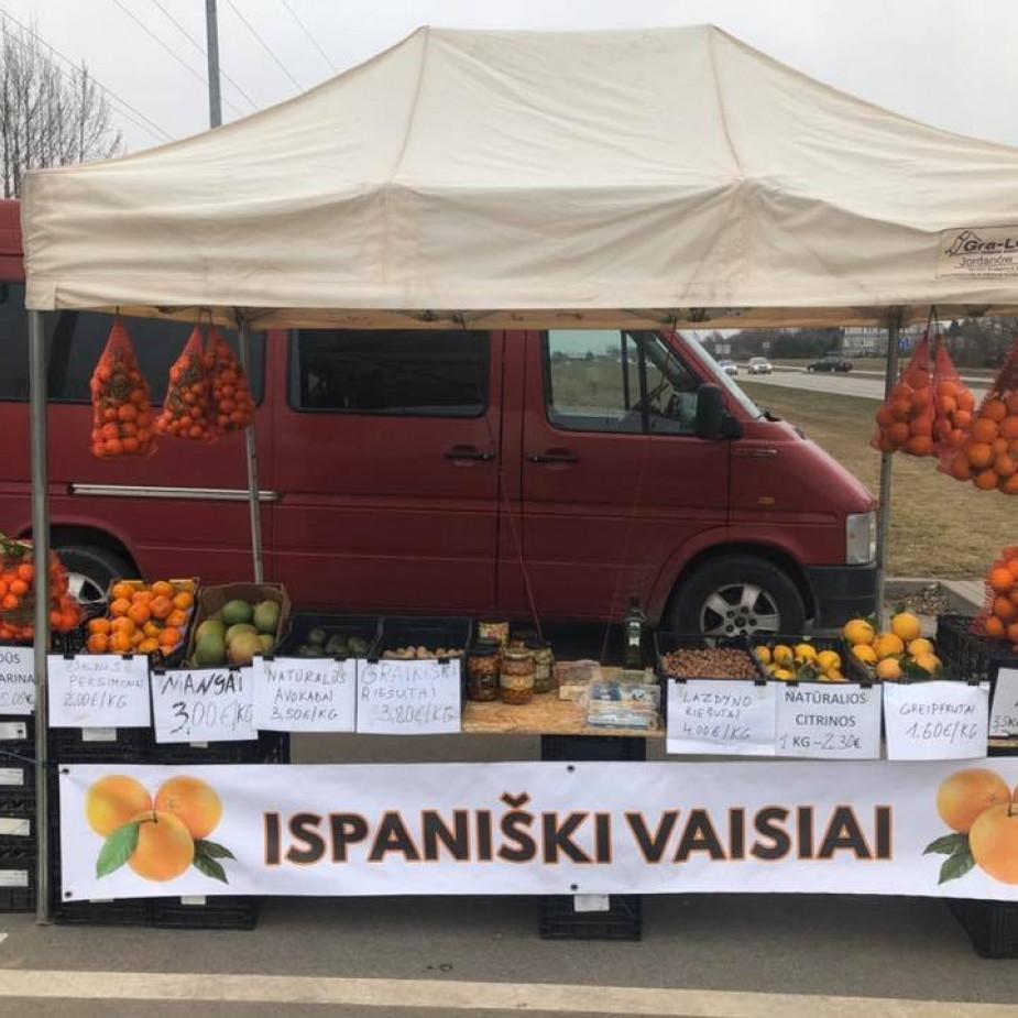 Skelbimo Siūlomas darbas vairuotojui - pardavėjui, prekiauti produkcija iš mikroautobuso (lauko prekyba) nuotrauka