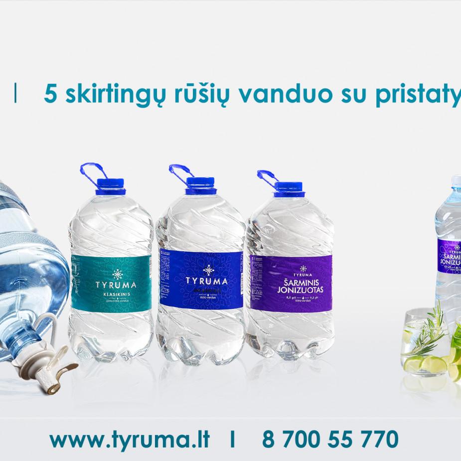 Skelbimo Vanduo namams. Vanduo verslui. Pilstymo įrangos pardavimas. Įrangos priežiūra nuotrauka
